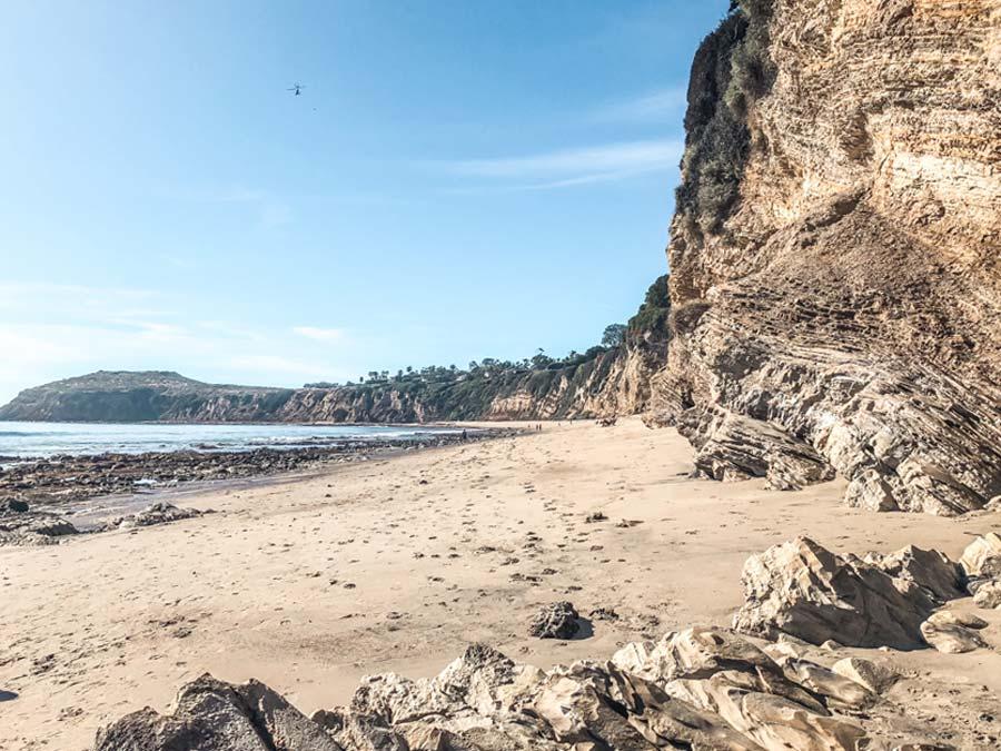 Big Dume Beach in Malibu California