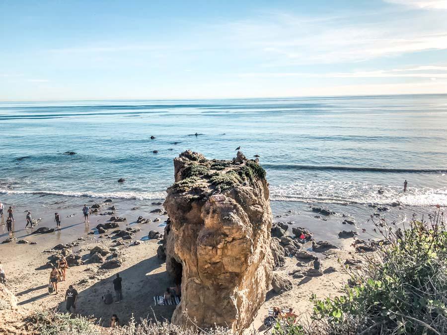Lookout from El Matador Beach
