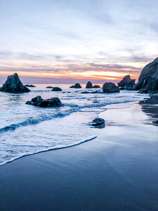 Sunset at El Matador in Malibu, California