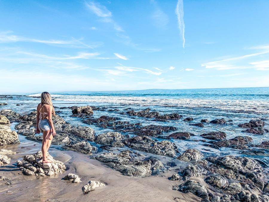 Point Dume Beach in Malibu, California