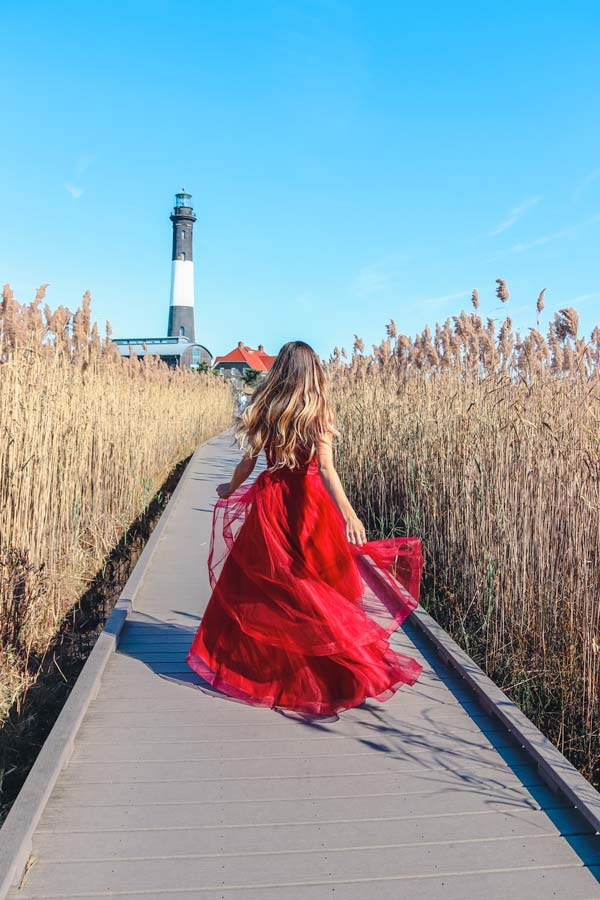The Fire Island Lighthouse is one another one of the best places for instagrammable photos.