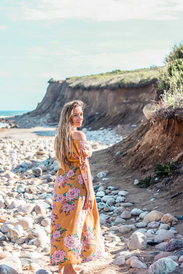 The Montauk Beach is one of the most instagrammable places on Long Island.