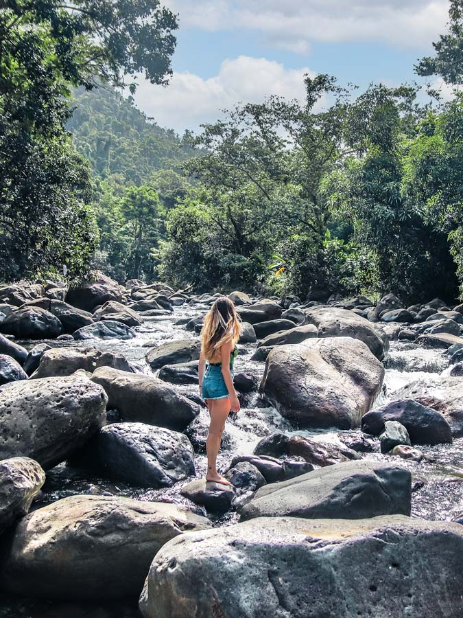 Add a bathing suit for el Yunque rainforest to your Puerto Rico packing list