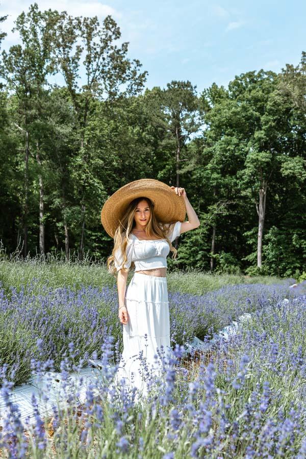 Sam Opp Lavender Fields in Chapel Hill NC
