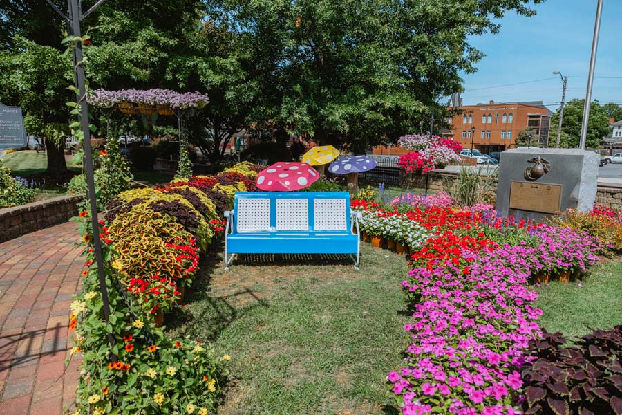 Downtown Garden in Mooresville, NC is one of the best things to do.