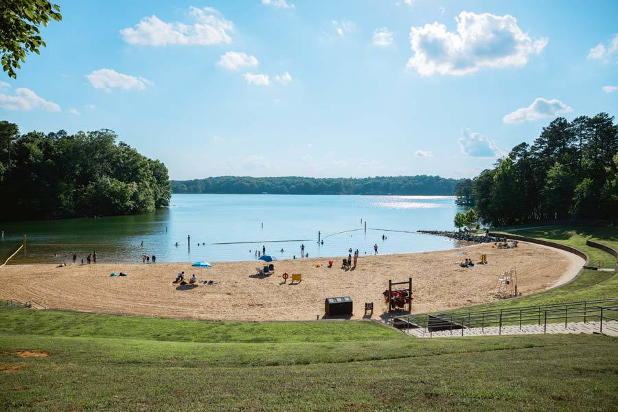 Lake Norman State Park Beach in Mooresville, NC