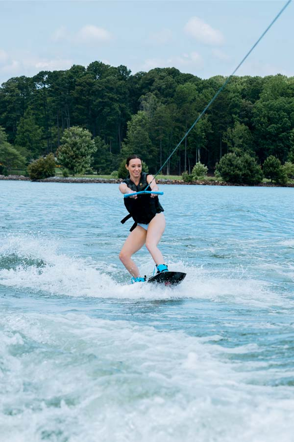 Wakeboarding is one of the best things to do in Mooresville, NC on Lake Norman.
