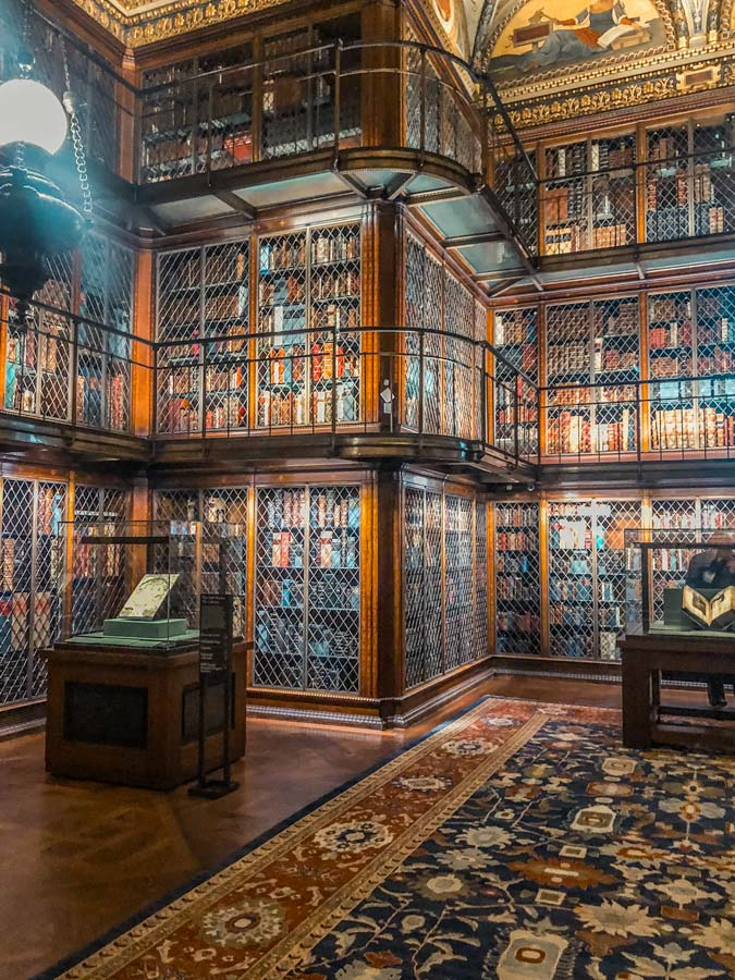Morgan Library and Museum in New York interior