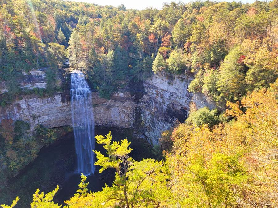 Fall Creek Falls in Chattanooga Tennessee