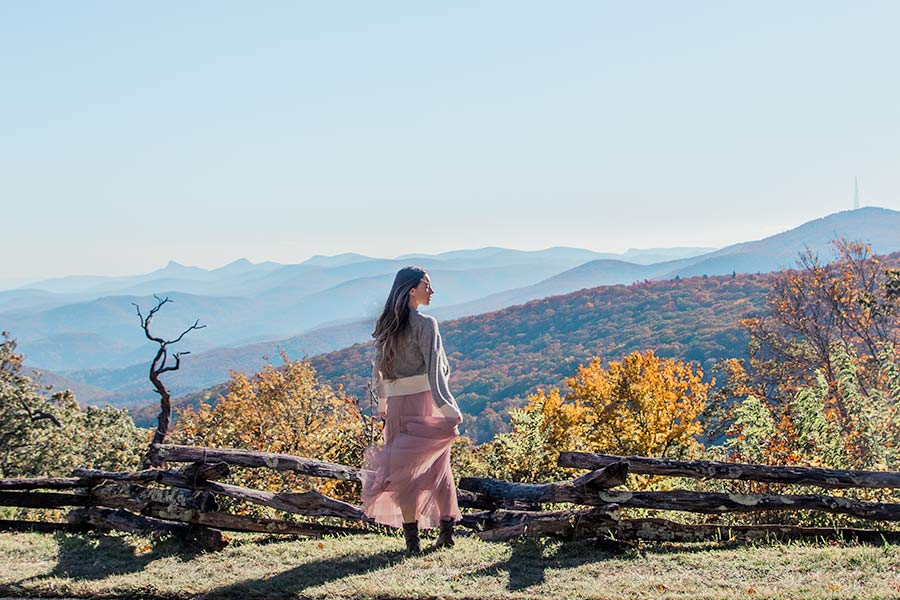 NC in Fall on the Blue Ridge Parkway