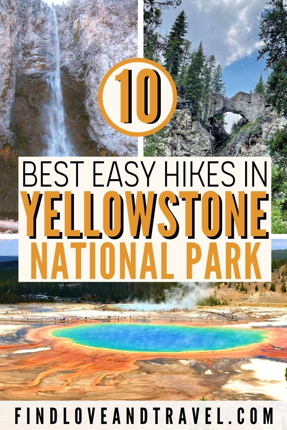 Easy hikes in Yellowstone National Park