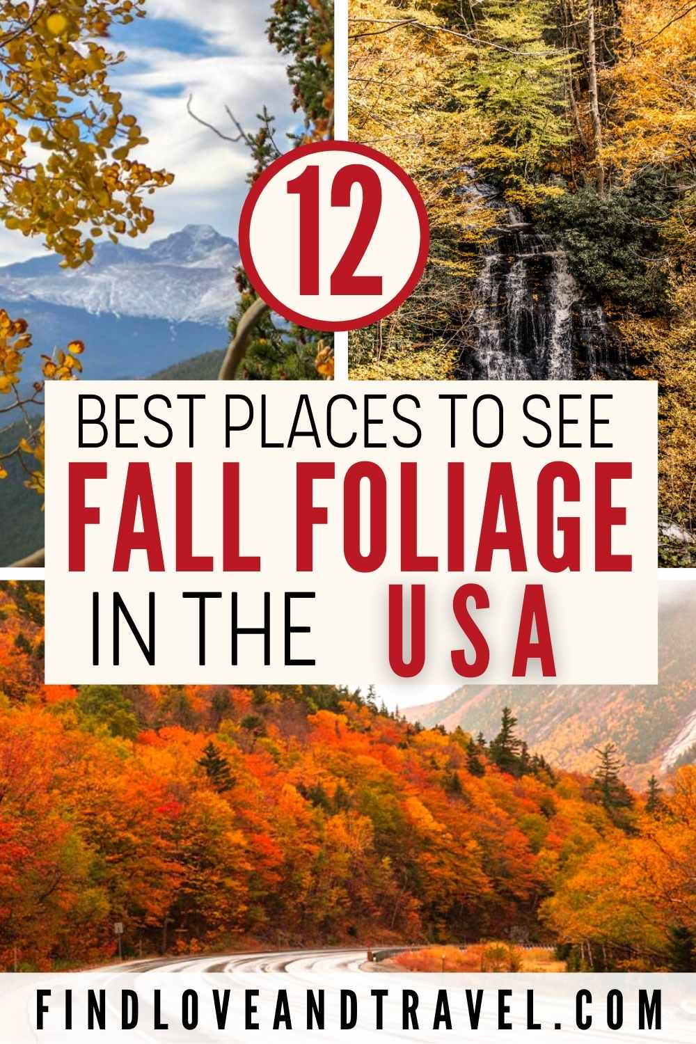 Best places to find fall foliage in the USA - United States fall colors