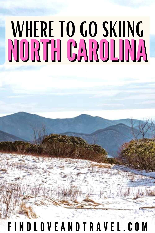 Skiing in NC - North Carolina Ski Resorts and Lodges